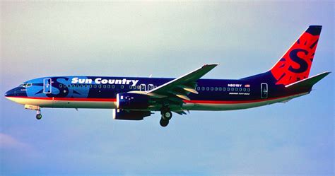 low fare carrier sun country airlines adds service to philadelphia international airport