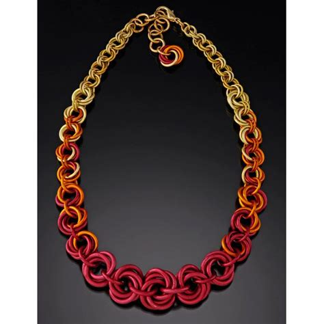 jewelry classes chicago tapered mobius necklace chainmaille diy jewelry class