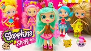 Shopkins shoppies doll peppa mint with season 4 exclusives vip card