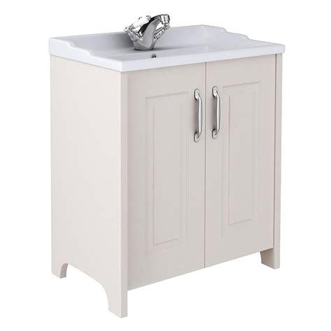 Devon cashmere 800mm traditional 2 door vanity unit
