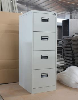 Steel Durable 4 Drawers Filing Card Cabinet Damro Office