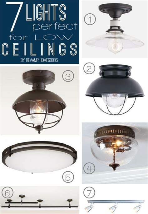 best 25 low ceiling lighting ideas on ceiling