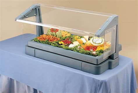 table top salad bar cambro tabletop salad bar w sneeze guard 48 inches l x