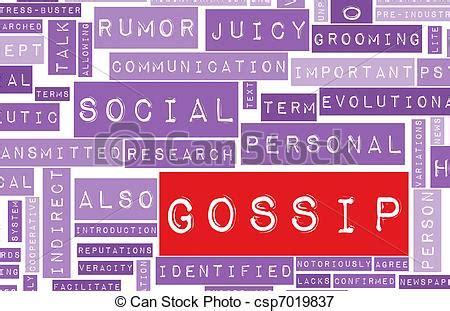 office gossip auf deutsch gossip and rumors as a concept background stock