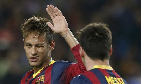 Messi Hairstyle 2015 Chions League by Lionel Messi And Neymar Barcelona 3 1 Ac Milan Lionel