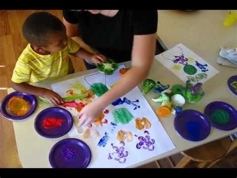 Painting The Kitchen Ideas by Painting With Fruits And Veggies Youtube