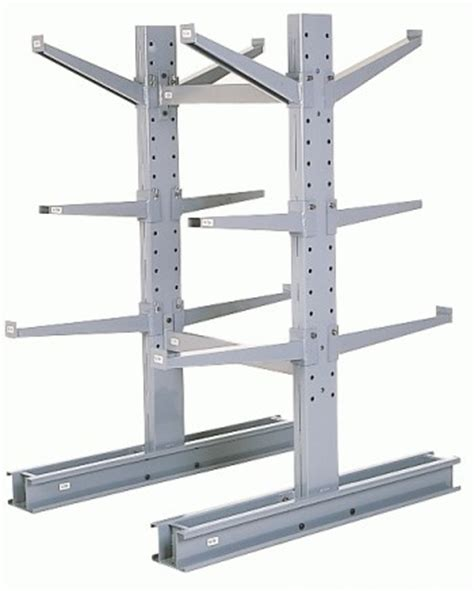 Cantilever Pipe Rack by Pipe Rack Lumber Rack Cantilever Racks Industrial Racks