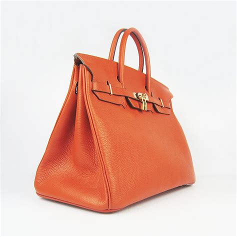 hermes birkin 40cm togo leather handbags 6099 light blue hermes birkin 40cm orange togo leather bag 6099 gold