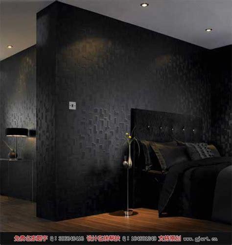 Schwarzes Schlafzimmer Wallpaper by 超强立体墙纸图片大全 国际艺术界