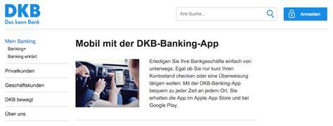 adresse dkb bank dkb banking mobil musterdepot er 246 ffnen