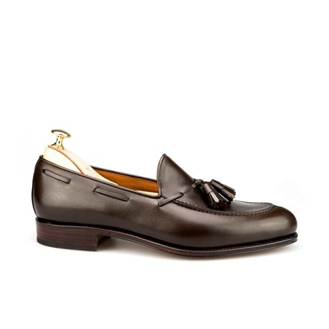 tassel loafers brown tassel loafers in brown calf carmina