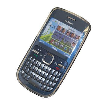 Casing Transparan Nokia C3 C3 00 flexishield skin for nokia c3 transparent black
