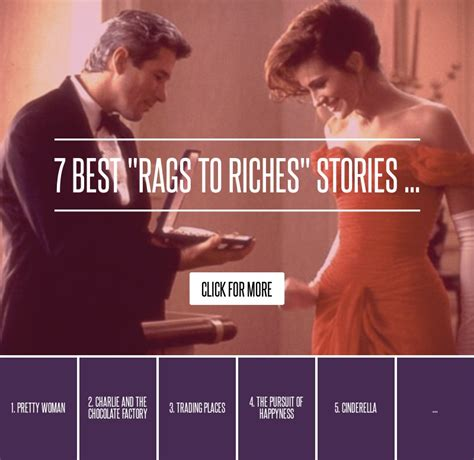 7 Rags To Riches Stories by 7 Best Quot Rags To Riches Quot Stories