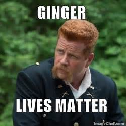 Text Flower Symbols - meme maker ginger lives matter