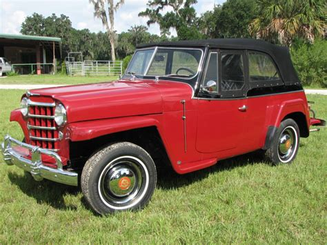 jeep jeepster for sale 1950 willys overland jeepster for sale
