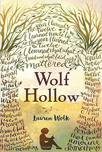 Book Fright Time Creatures Who Am I Etc review of the day wolf hollow by wolk fuseeight a fuse 8 production