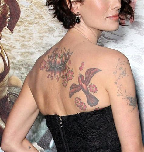 7 celebrities with visible tattoos on the red carpet