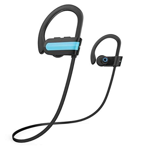Wireless Headset Bluetooth V4 1 Edr Dengan Mic ahutoru bluetooth headphones v4 1 edr multi point connection hd stereo sweat proof wireless