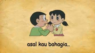 Asal Kau Bahagia Armada Asal Kau Bahagia Lyric Nobita Dan Shizuka
