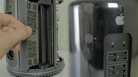 mac pro 2013 ram upgrade how to upgrade ram late 2013 apple mac pro