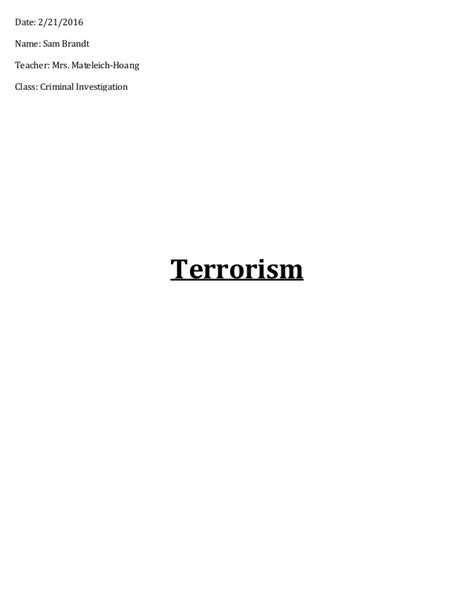 Cyber Terrorism Essay by Cyber Terrorism Research Papers Writerkesey X Fc2