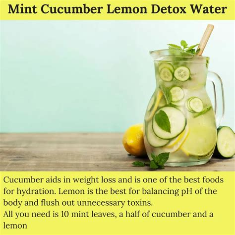 Best Detox Water For Digestion by 4 Simple Detox Waters For Better Digestion