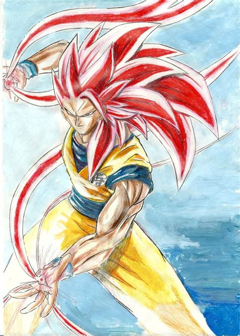 painting goku goku fan goku photo 35791774 fanpop