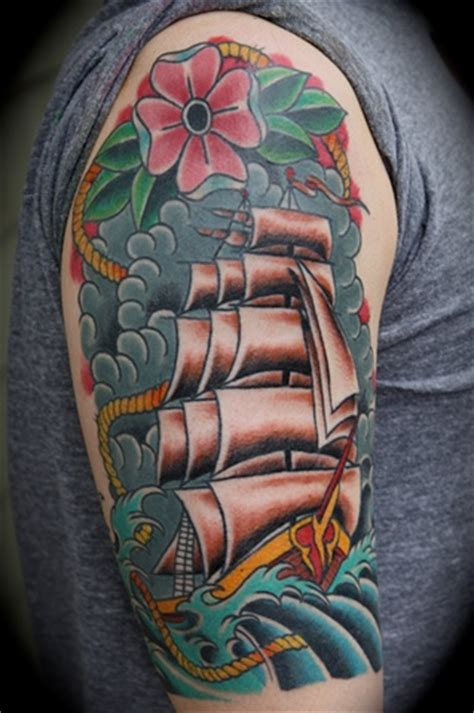 clipper ship tattoo freek clipper ship