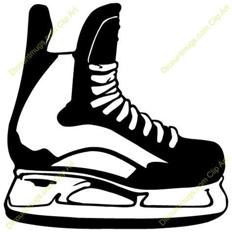 hockey skates coloring pages hockey skate template google search hockey pinterest