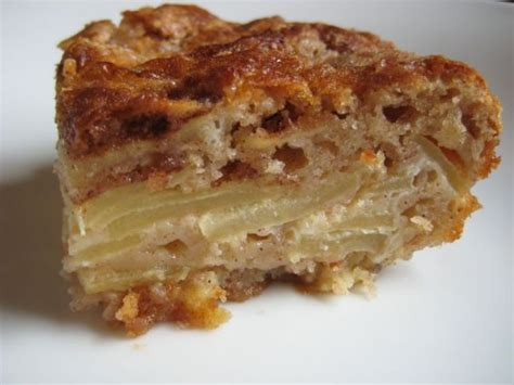easy apple cake recipe dishmaps