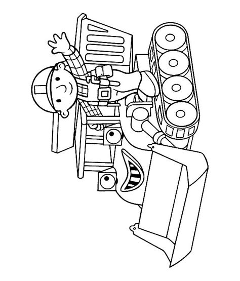Bob The Builder Coloring Pages Muck