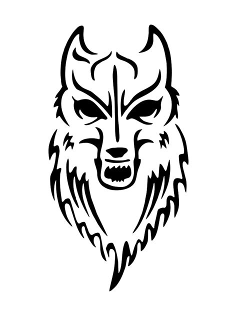 wolf spray paint stencil www pixshark com images