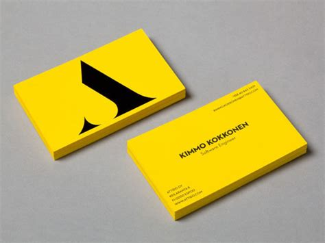 24 creative examples of new business card designs