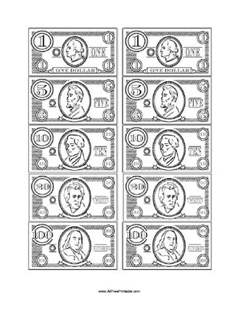 printable fake money pdf free printable play money new calendar template site