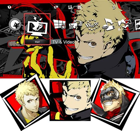 ps4 themes bug ps4 ps3 exclusive persona 5 gets free day one dlc day one