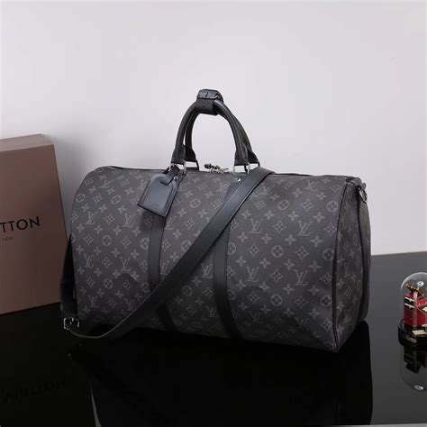 men lv louis vuitton  keepall  handbags monogram