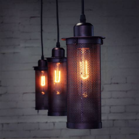 craft lights industrial european craft fencing pendant l ceiling
