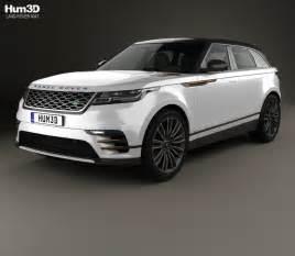 land rover range rover velar 2018 3d model hum3d