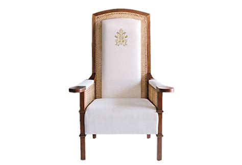 papal chair may be placed in ust museum headlines news