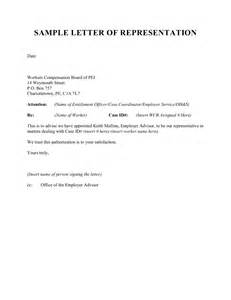 Authorization Letter Lawyer Letter Of Representation Sample Crna Cover Letter