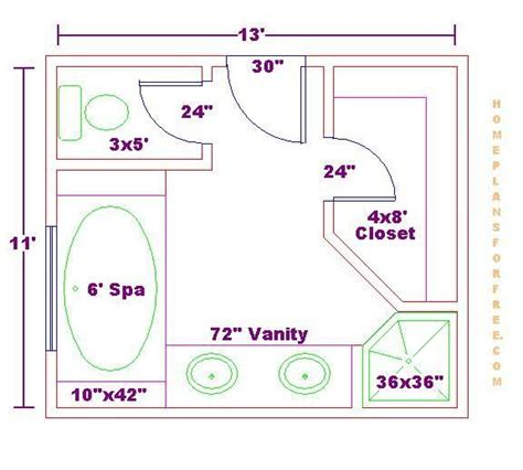 Master Bathroom And Closet Floor Plans by Master Bath Floor Plans Floor Plan Options Bathroom
