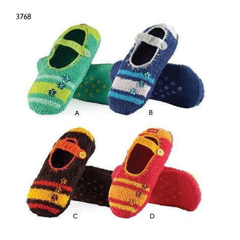bulk slippers soxo s plush slippers with stripes