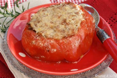 cuisiner coeur de boeuf recette tomate coeur de boeuf farcie aux deux viandes 750g