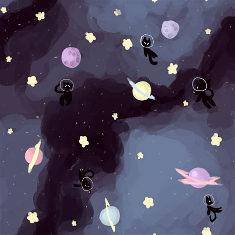 tumblr themes space background space cat tumblr
