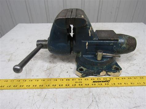 bench jaws wilton 1760 tradesman bullet vise swivel bench mount 6