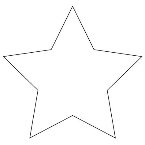 fiori da stare e ritagliare disegno di stella a 5 punte da colorare disegni da