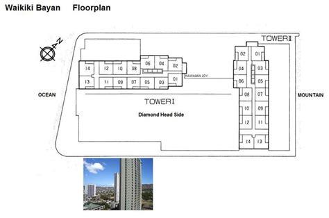 waikiki banyan floor plan hawaiian joy english condominium guide waikiki banyan