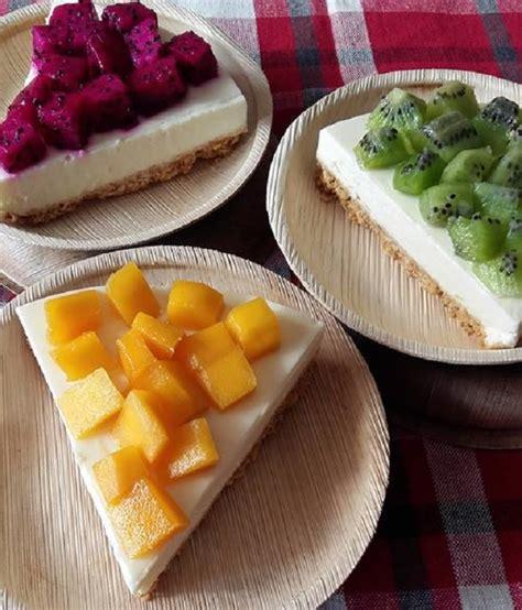 membuat no bake cheesecake resepi fresh fruits no bake cheesecake resepi bonda
