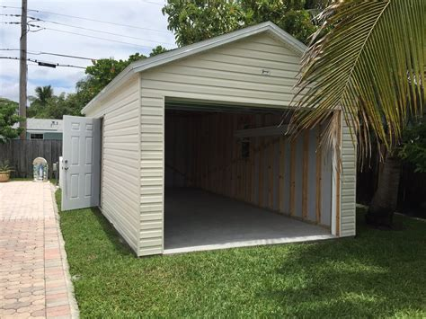 garage in the backyard 12x24 suncrest shed classic style no wood floor