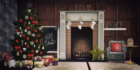 sims 3 christmas decor cc decorate the tree stuff by blue hopper simming teh sims